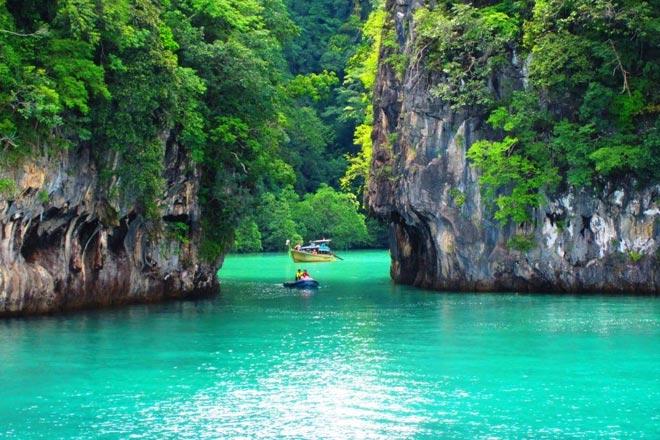 Private Speed Boat Tours To Phi Phi Island Maya Bay Khai
