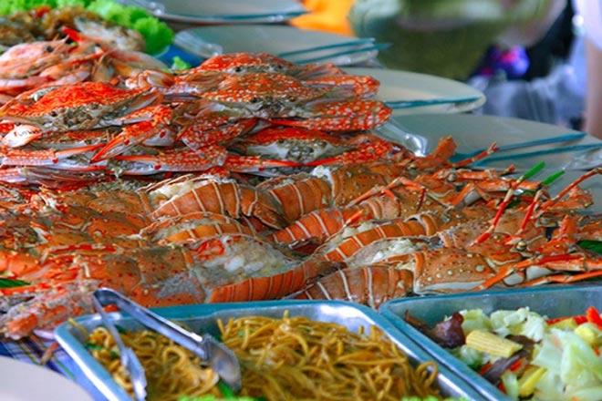 Phang Nga Seafood Dinner